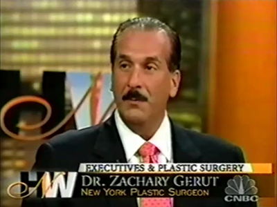 Dr. Gerut on CNBC - Facelift for Executives